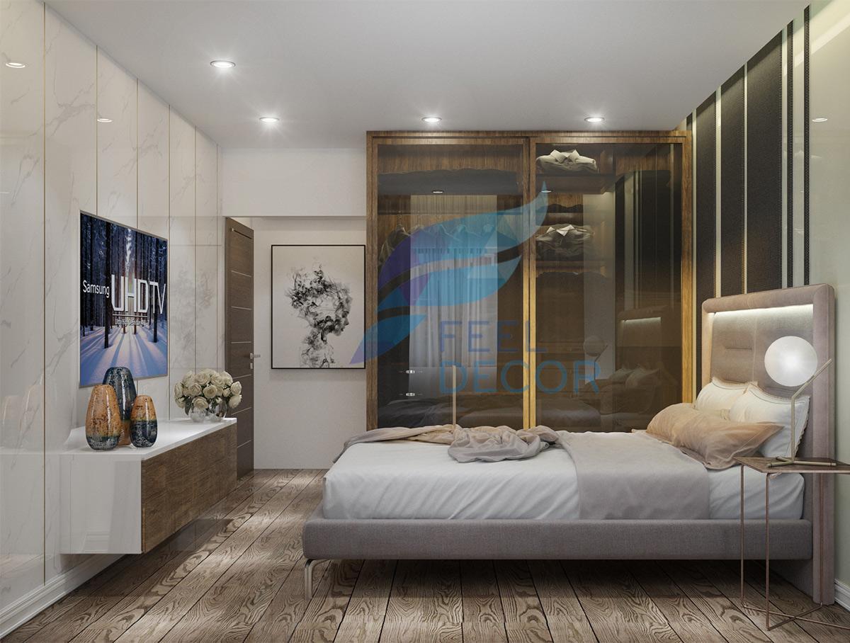 căn hộ 80m2 chung cư The Gold View Anh Tùng