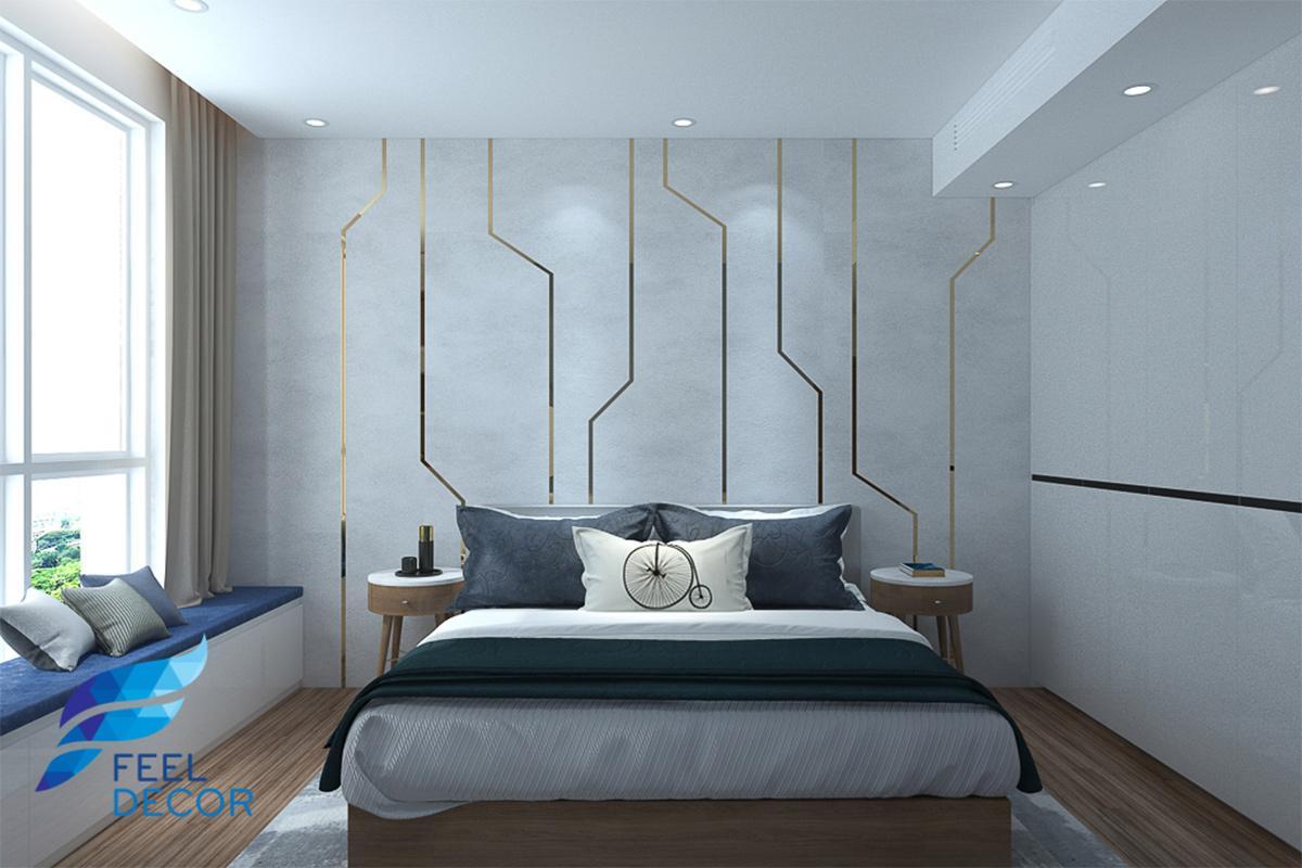 Thiết kế thi công nội thất căn hộ 82m2 chung cư Sadora – Chủ sở hữu Chị Vy