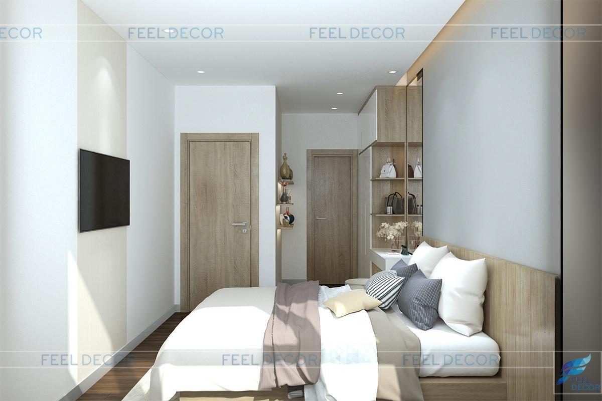Thiết kế thi công nội thất căn hộ 85m2 chung cư Sunrise Riverside – Chủ đầu tư chị Phương