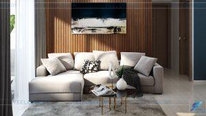 thiết kế thi công nội thất căn hộ Sadora Sala