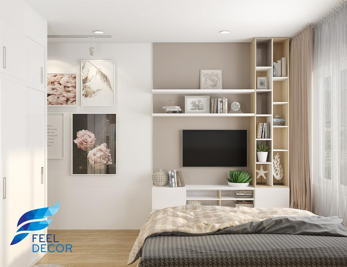 Thiết kế thi công nội thất căn hộ 90m2 chung cư Sunrise Riverside – Chủ đầu tư anh Đăng Anh