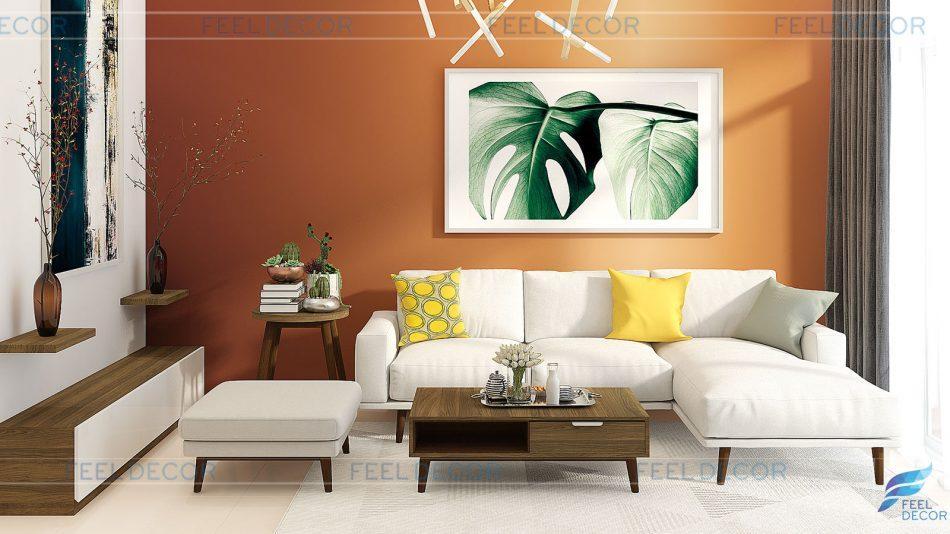 Thiết kế thi công nội thất căn hộ 94m2 chung cư Park View Q.7 – FD2718