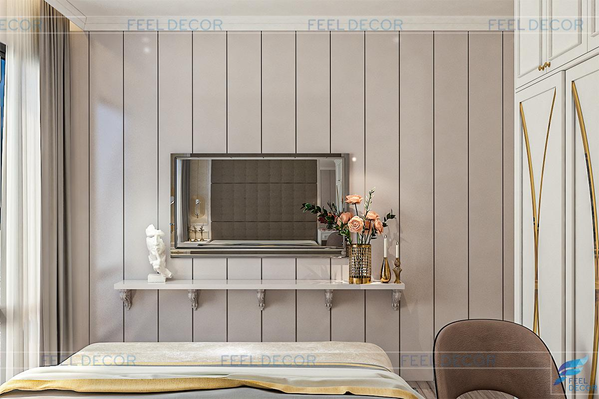 Thiết kế thi công nội thất căn hộ 95m2 chung cư Masteri An Phú – Chủ đầu tư anh Minh