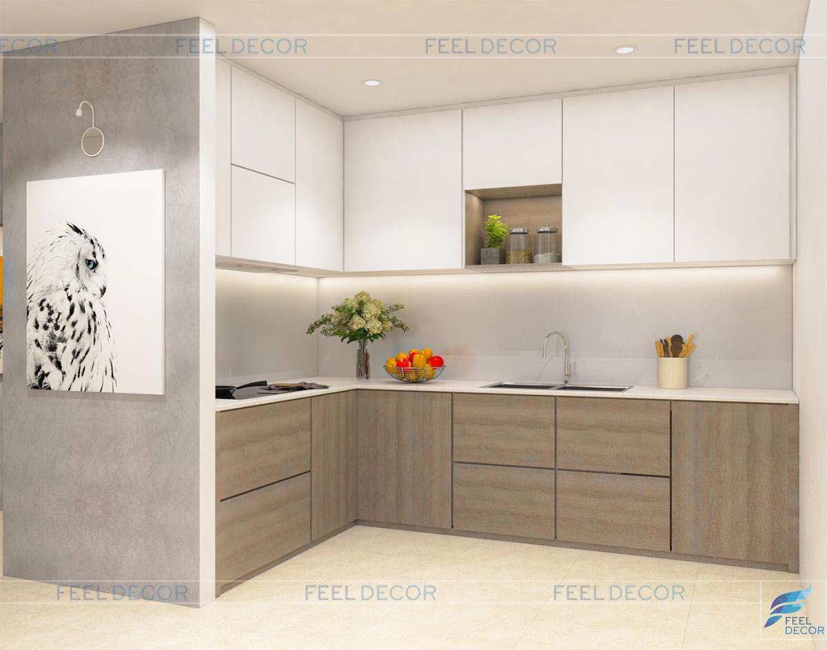 Thiết kế thi công nội thất căn hộ chung cư Golden Mansion – Chủ đầu tư Anh Trung
