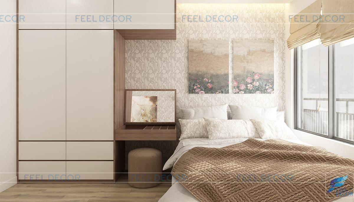 Thiết kế thi công nội thất căn hộ chung cư Sunrise Riverside – Chủ đầu tư chị Nga