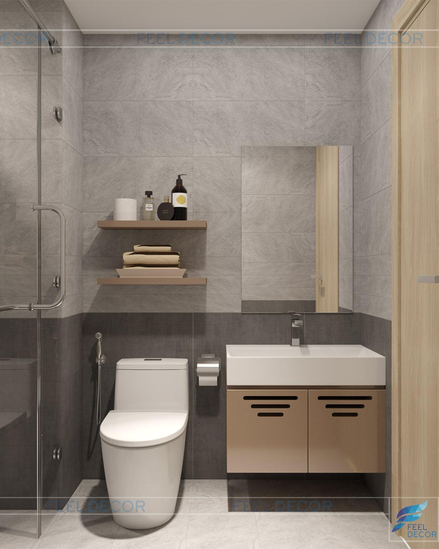 Thiết kế thi công nội thất căn hộ The Sun Avenue – Chủ đầu tư chị Minh