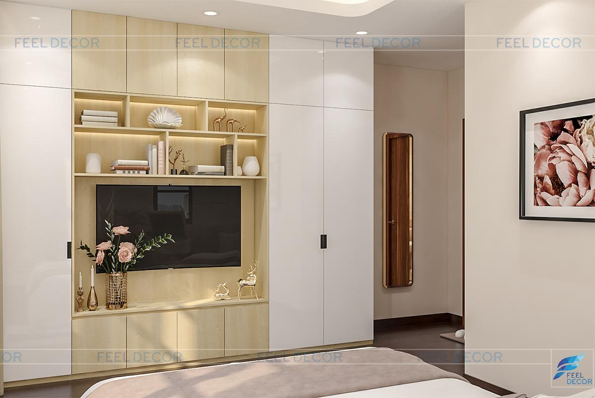 Thiết kế thi công nội thất căn hộ CityLand ParkHill