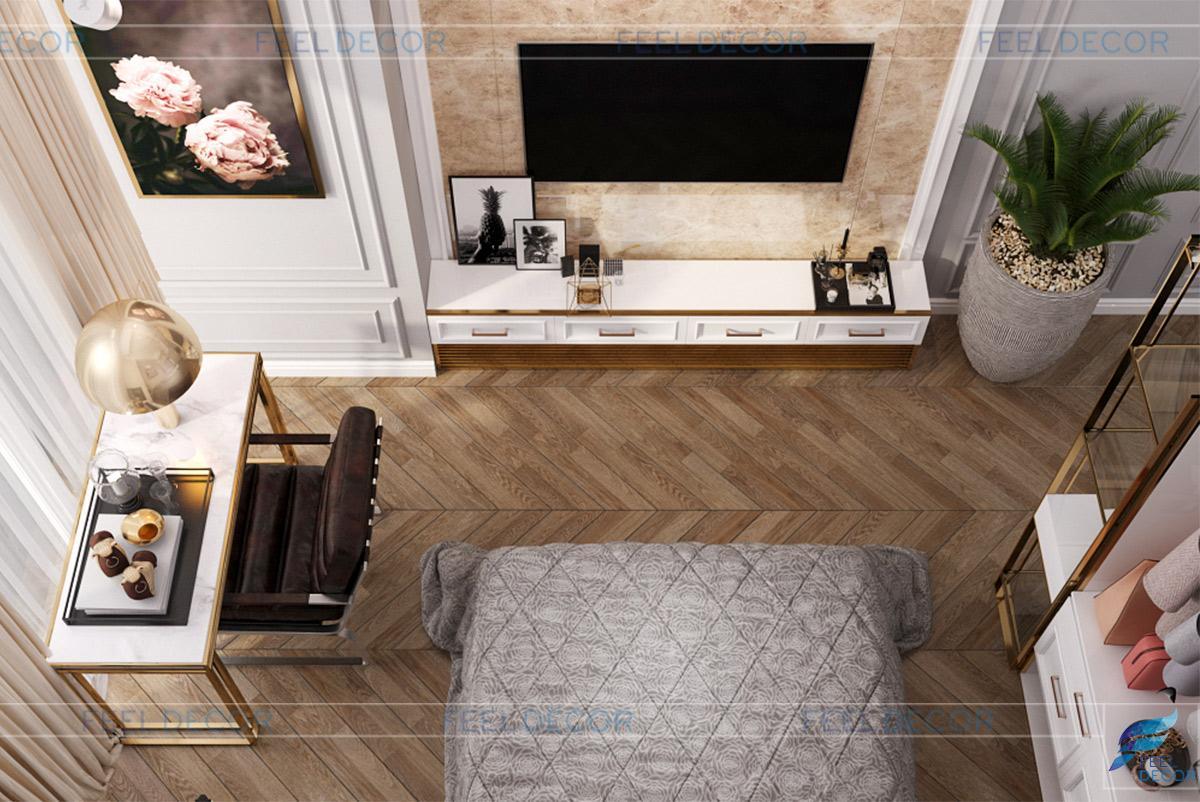 Thiết kế thi công nội thất căn hộ Officetel chung cư Medison Quận 1