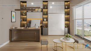 thiết kế thi công nội thất căn hộ Officetel chung cư Saigon Royal