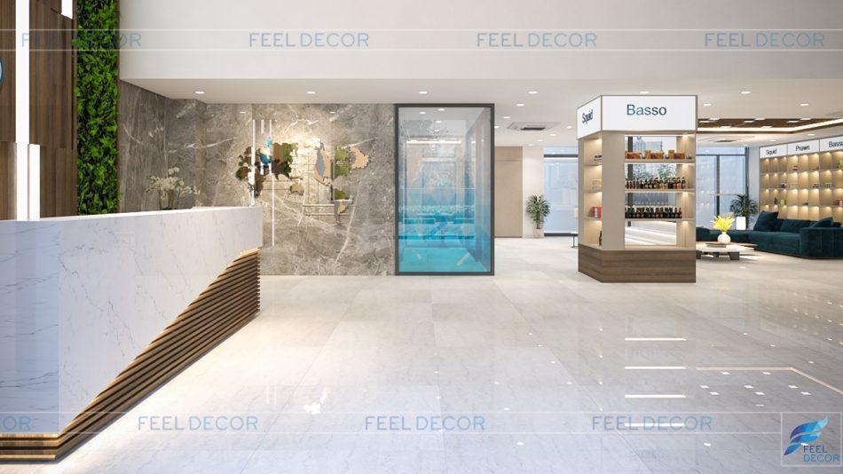 thiết kế thi công nội thất dự án căn hộ EU FOOD