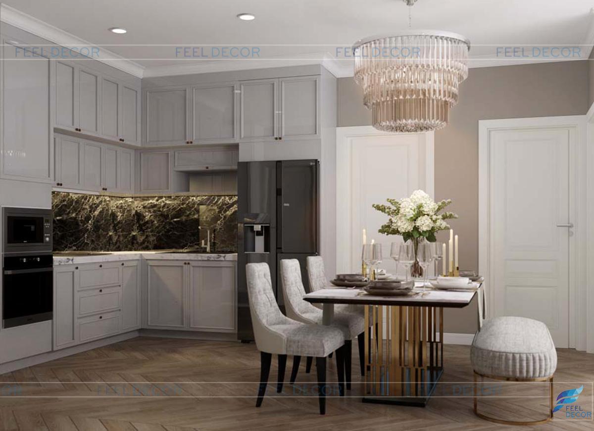 Thiết kế thi công nội thất căn hộ chung cư Hà Đô Centrosa