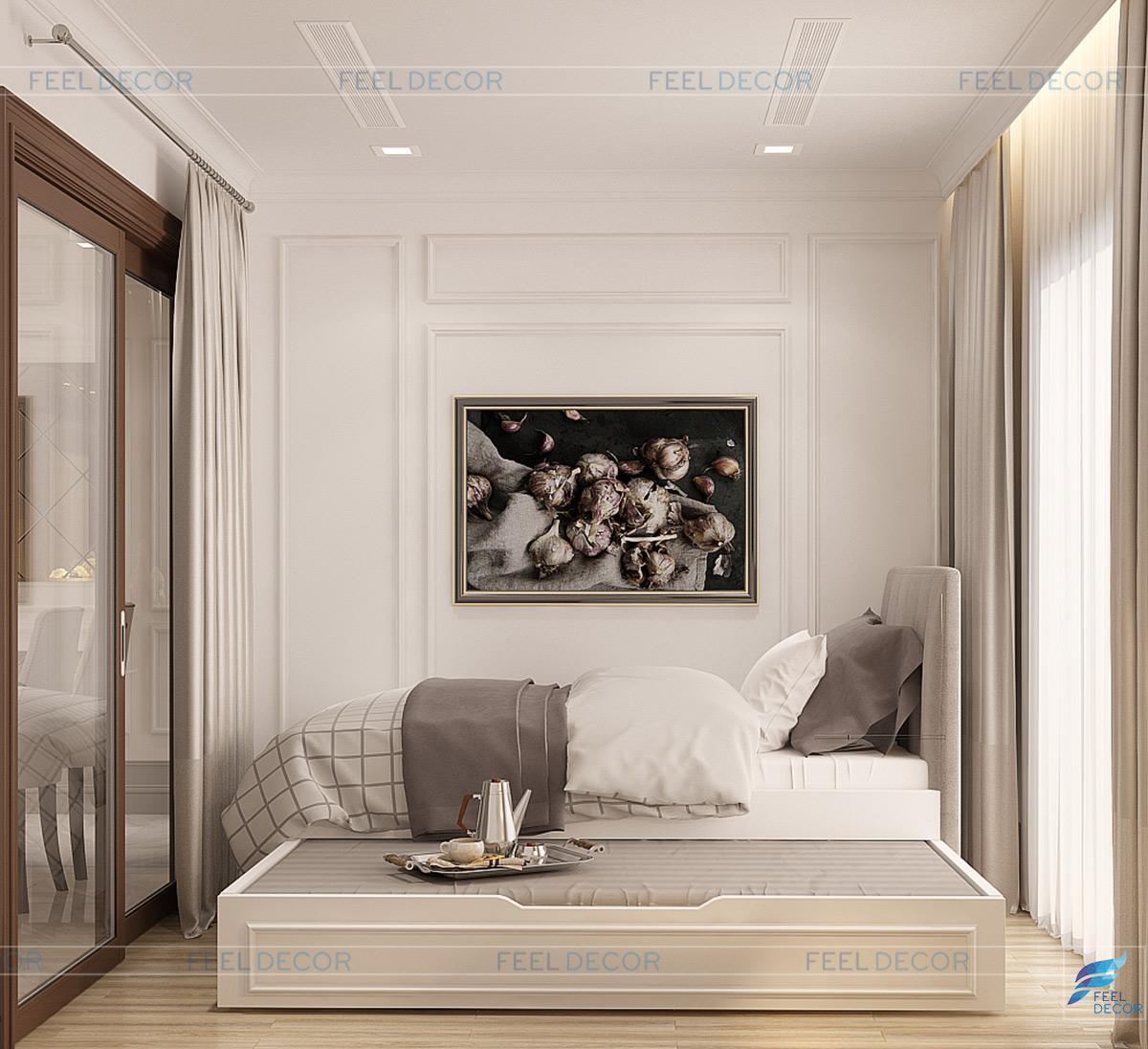 Thiết kế thi công nội thất căn hộ 84m2 chung cư Landmark 81 Vinhome