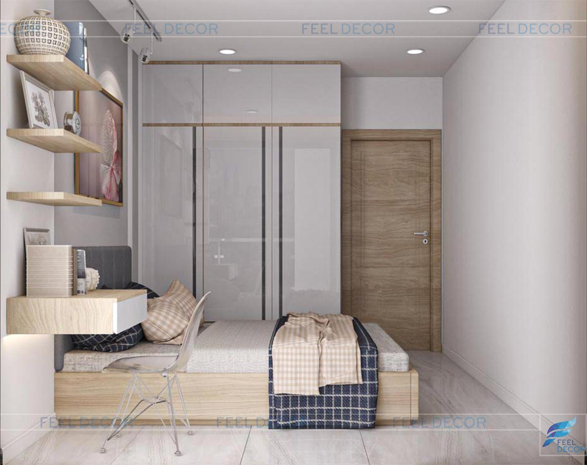 Không gian phòng ngủ phụ