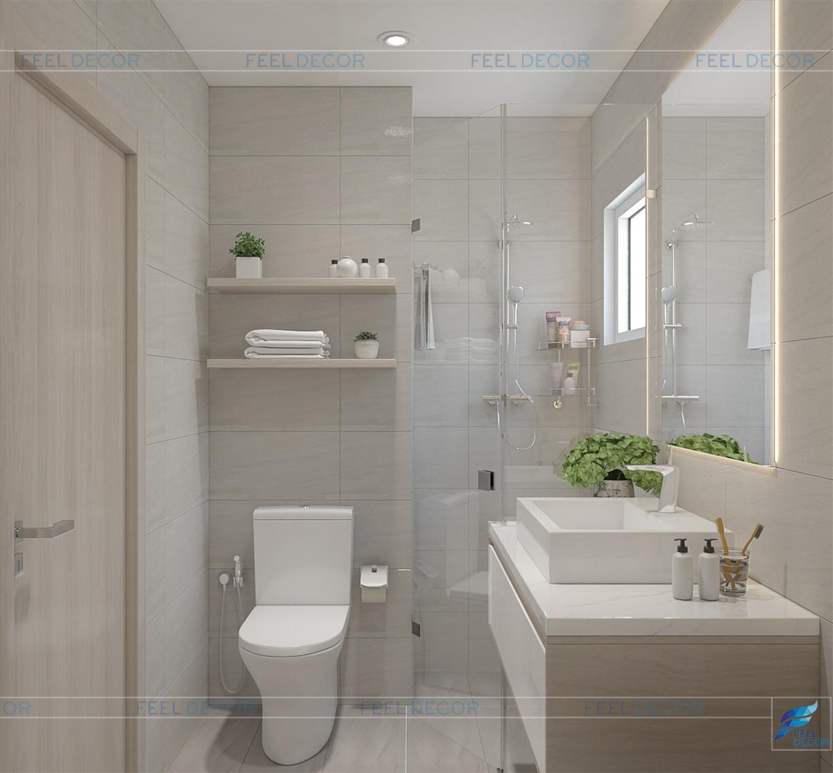 Phòng tắm bên trong phòng ngủ Master