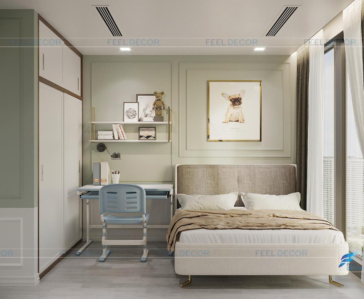 Phòng ngủ con trai năng động