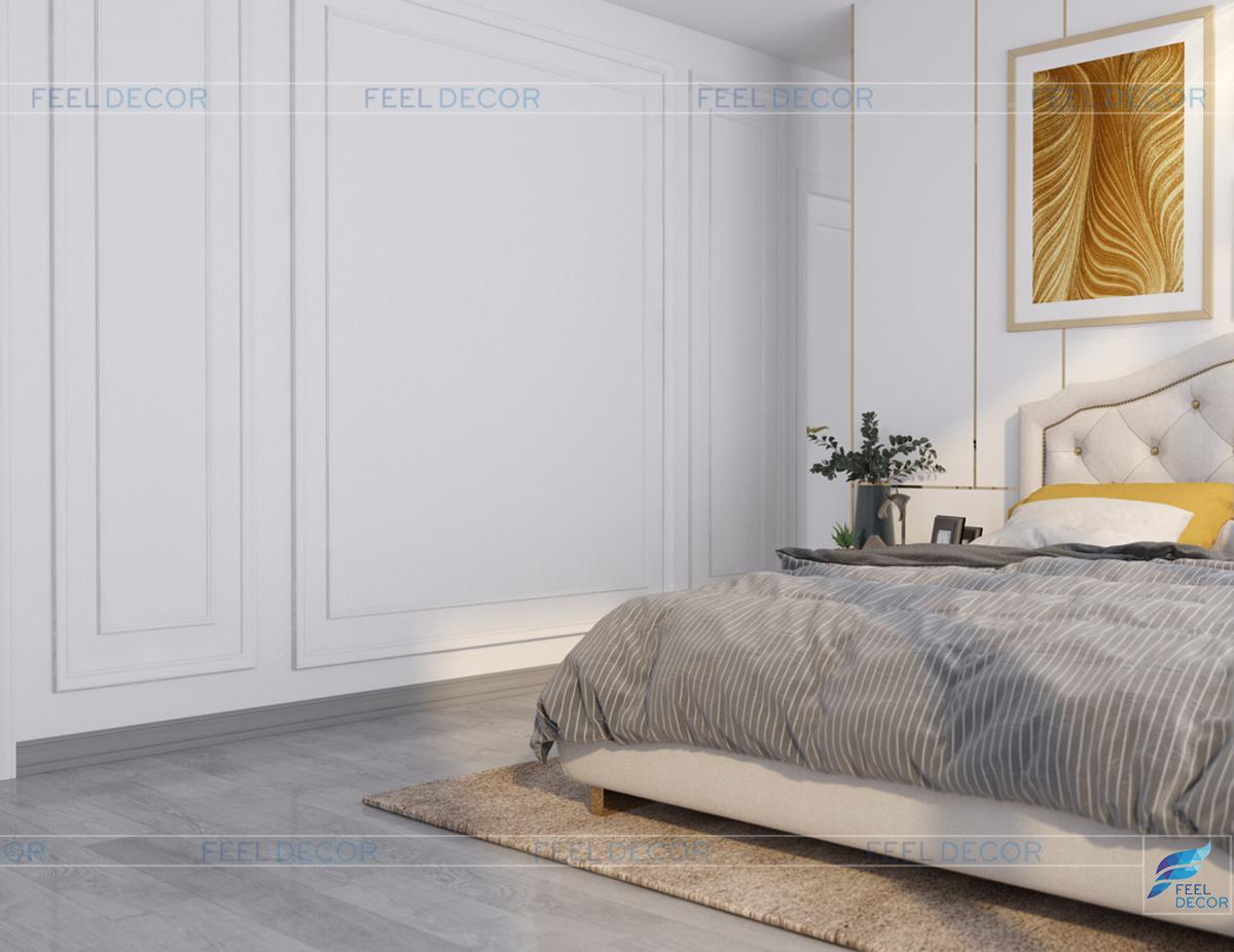 thiết kế nội thất phòng ngủ vinhome ba son