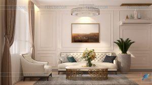 Thiết kế thi công nội thất căn hộ Vũng Tàu Center – Chủ đầu tư chị Ngọc Mai