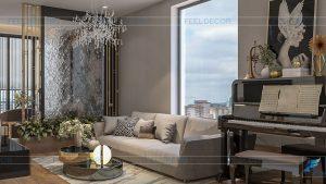 Nội thất chung cư Waterina Suites