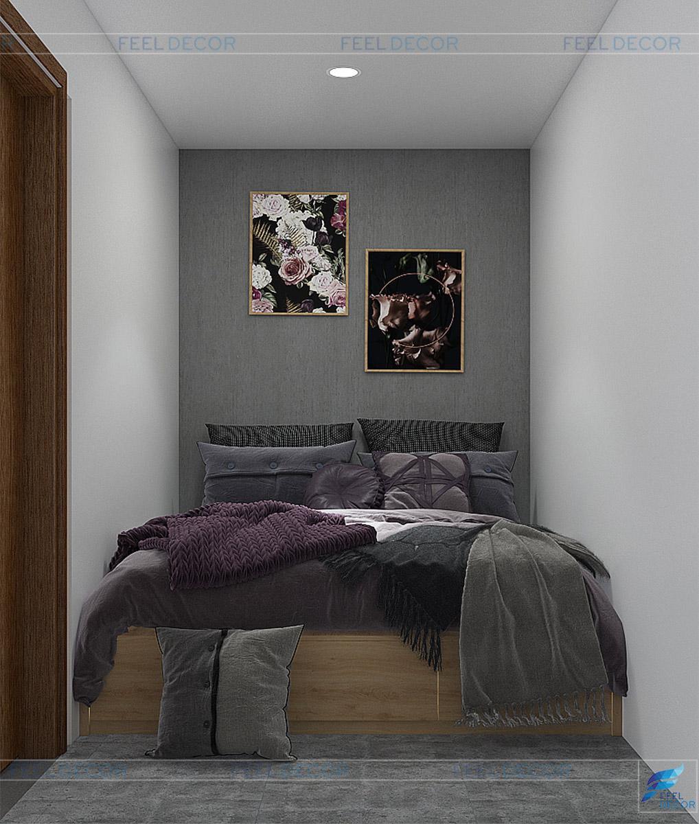 Thiết kế thi công nội thất phòng ngủ Coffee Tô Ký