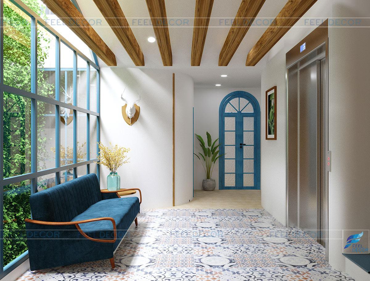 Thiết kế thi công nội thất căn mẫu cho nhà phố