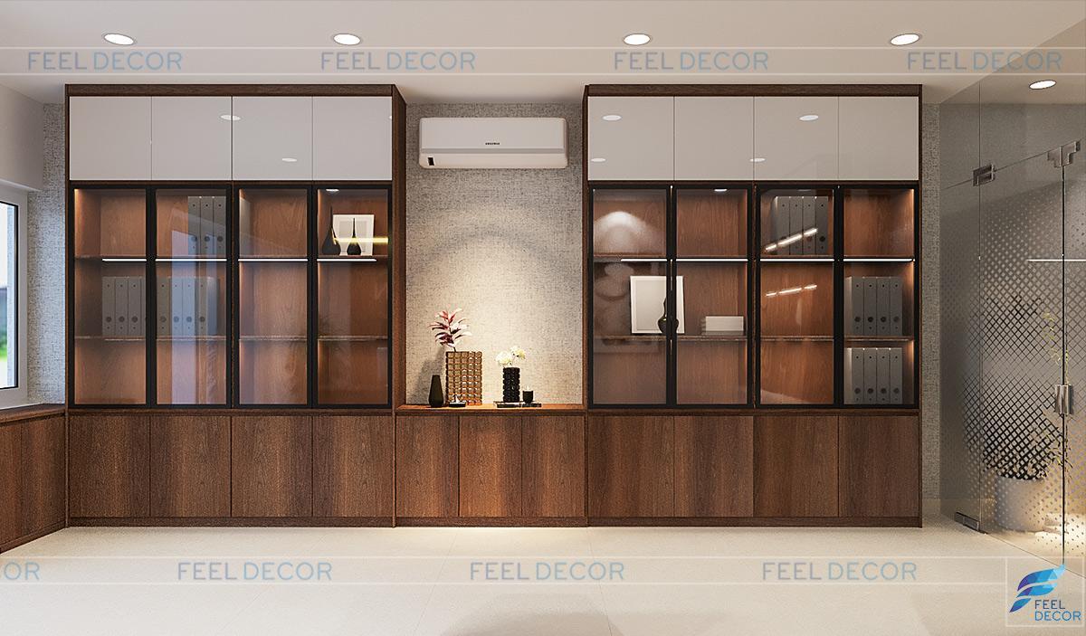Thiết kế thi công nội thất nhà phố Golden Silk