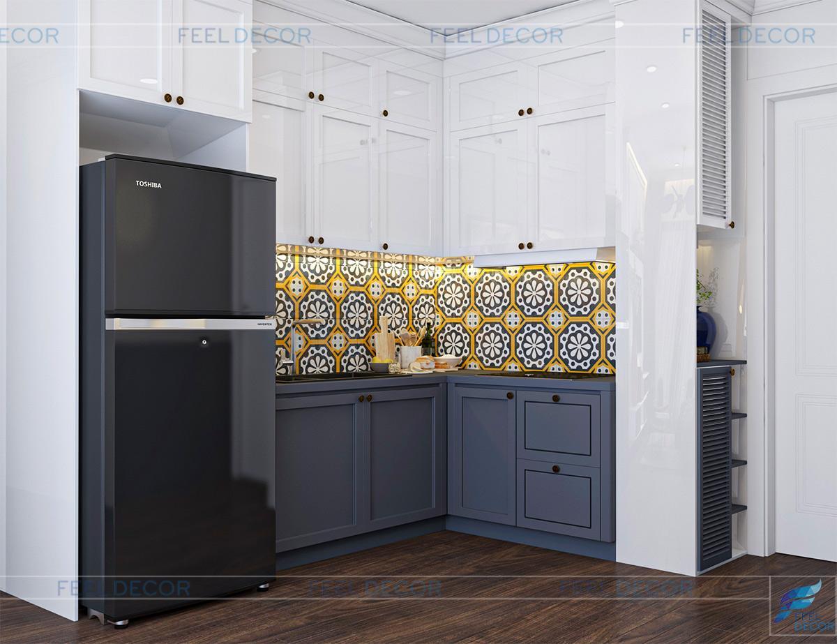 Thiết kế thi công nội thất căn hộ 67m2 2 phòng ngủ chung cư Masteri An Phú