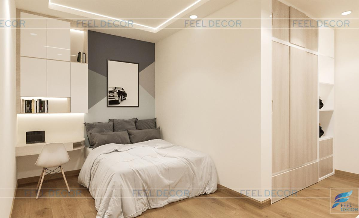 Thiết kế thi công nội thất nhà phố Trường Sơn – Chủ đầu tư chị Mỹ Kim