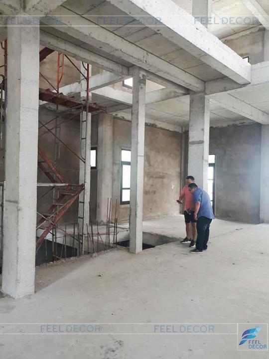 Hình ảnh thực tế dự án biệt thự Vinhomes Tân Cảng