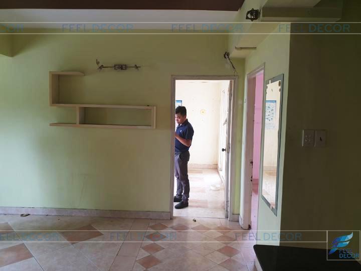 Hình ảnh thực tế dự án cải tạo căn hộ chung cư
