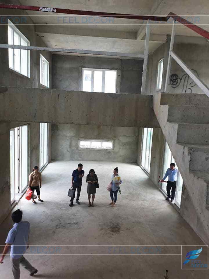 Hình ảnh thực tế dự án biệt thự Sala quận 2