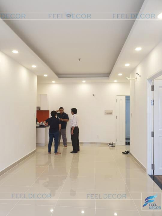 Hình ảnh thực tế dự án căn hộ chung cư hoàn thiện