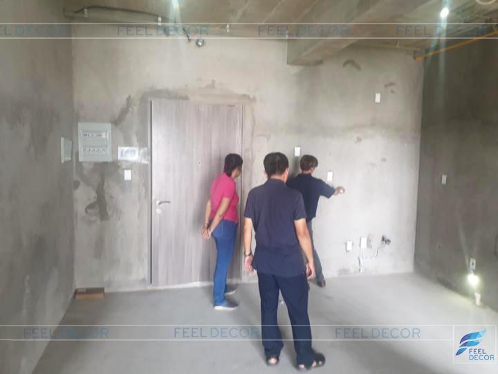 Hình ảnh thực tế dự án căn hộ chung cư giao nhà thô