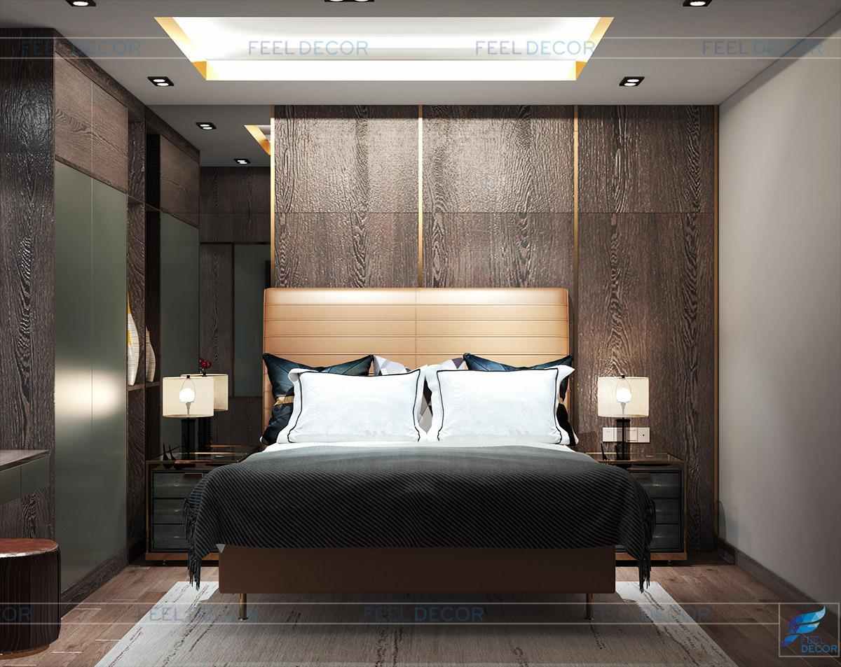 nội thất phòng ngủ hiện đại, tiện nghi