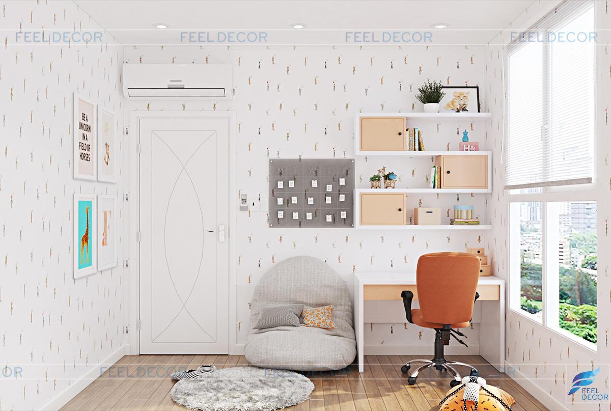 Thiết kế nội thất phòng ngủ trẻ em chung cư The Prince Residences