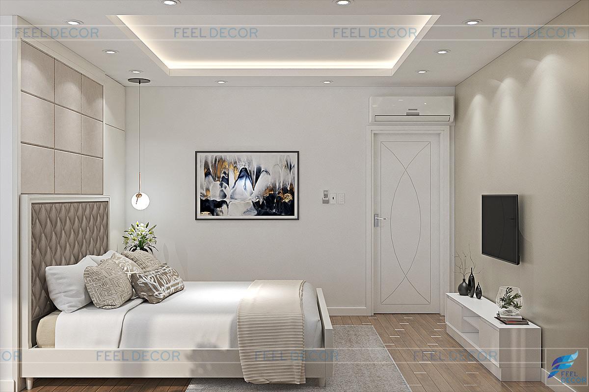 Thiết kế nội thất phòng ngủ chung cư The Prince Residences