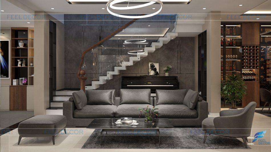 Thiết kế nội thất nhà phố Biên Hòa