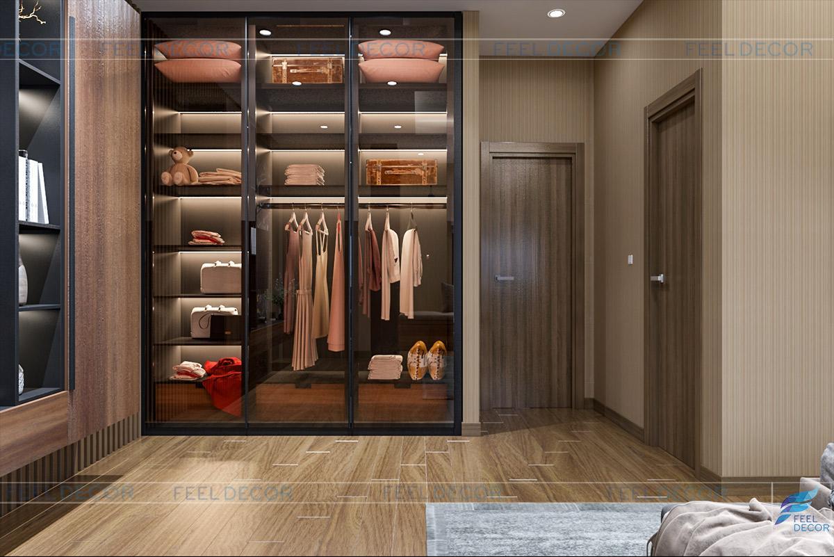 Thiết kế nội thất tầng 3 nhà phố Biên Hòa