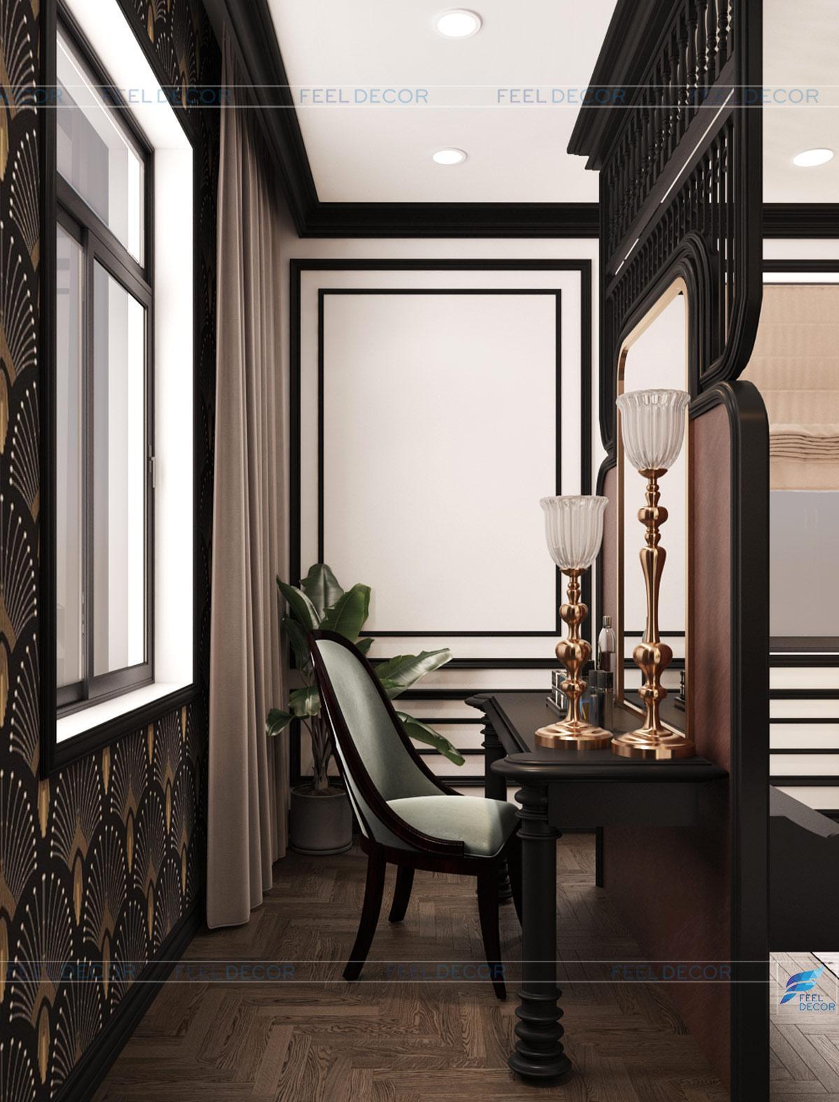 Thiết kế nội thất phòng ngủ sang trọng và đẹp mắt