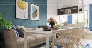 Thiết kế thi công nội thất phòng ngủ căn hộ chung cư Sài Gòn Royal