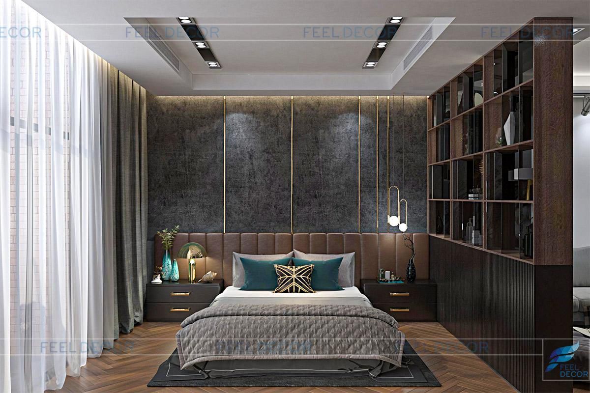 Thiết kế nội thất tầng 3 nhà phố Vạn Phúc Thủ Đức