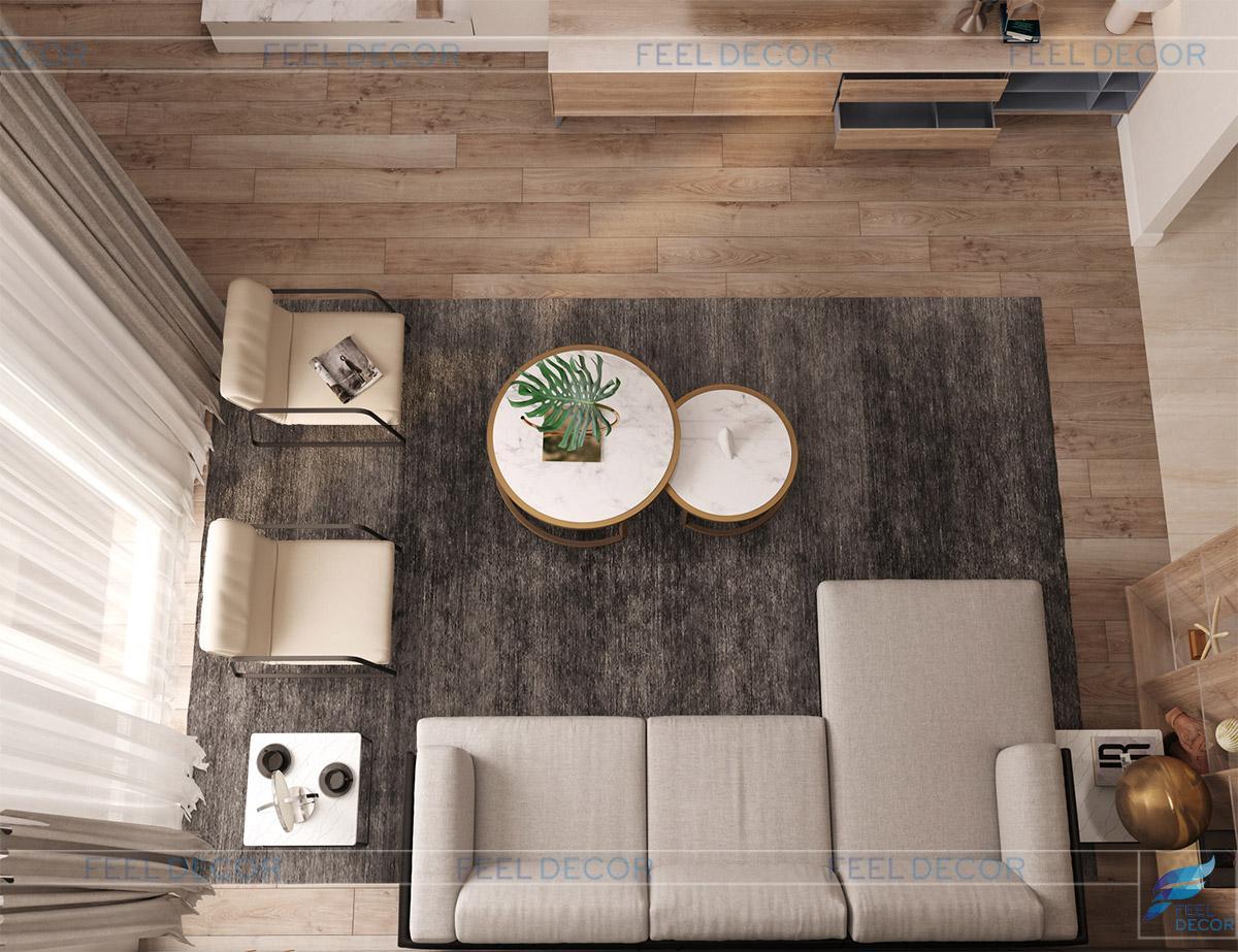 Thiết kế thi công nội thất nhà phố Lavila - Anh Phong