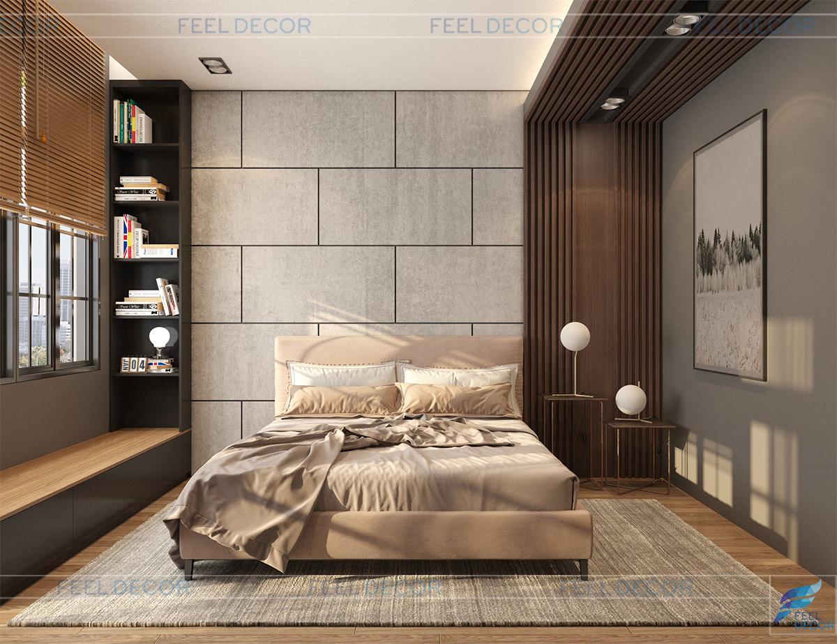 Thiết kế thi công nội thất nhà phố Lavila chi vy