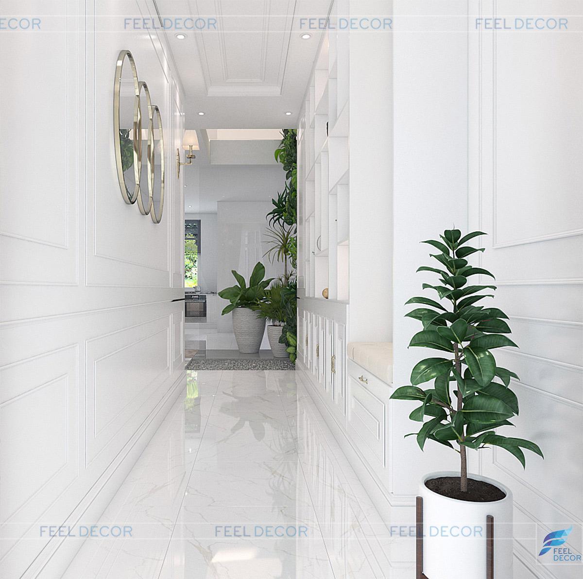 Thiết kế thi công nội thất nhà phố vạn phúc ngọc hiền