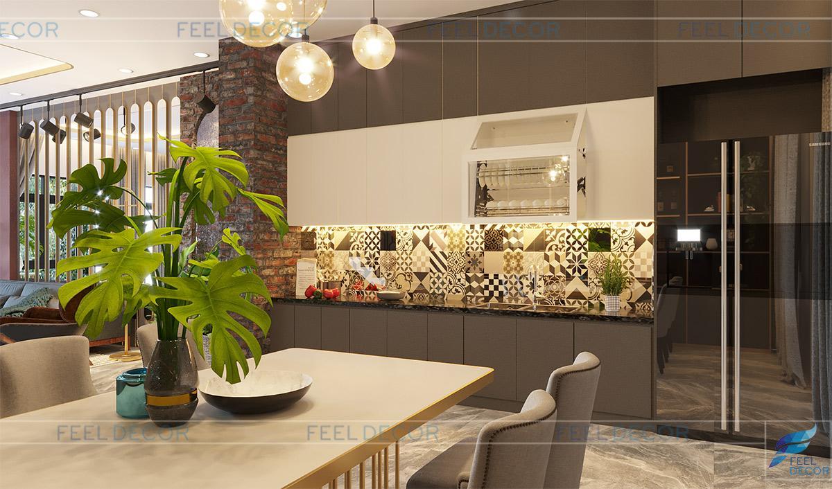 Thiết kế thi công nội thất nhà phố Vạn Phúc - Chủ đầu tư chị Thảo