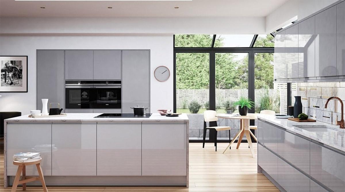 acrylic và ứng dụng trong nhà bếp