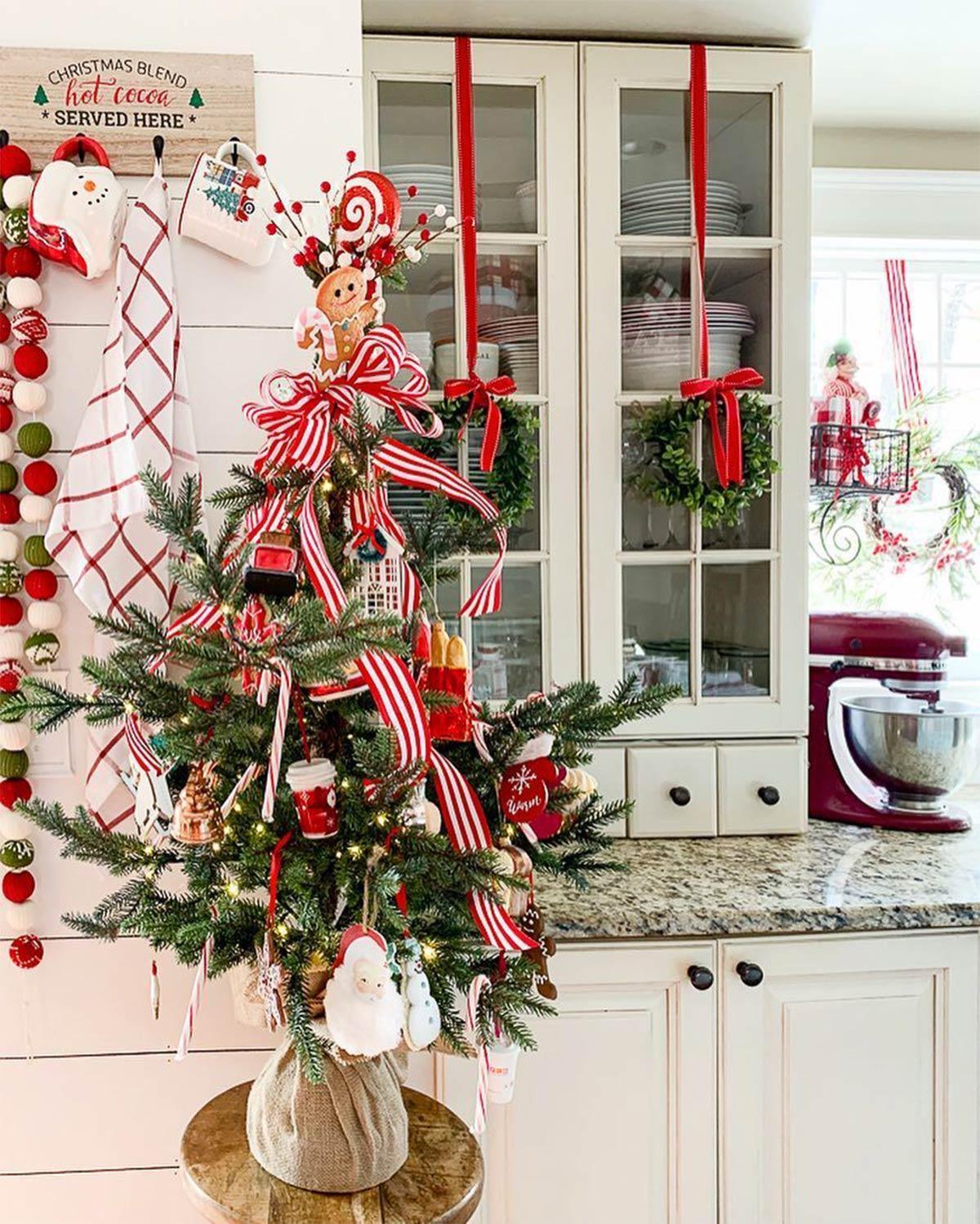 trang trí bếp ngày giáng sinh