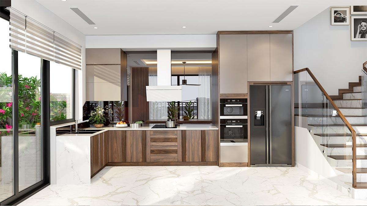 lựa chọn nội thất nhà bếp