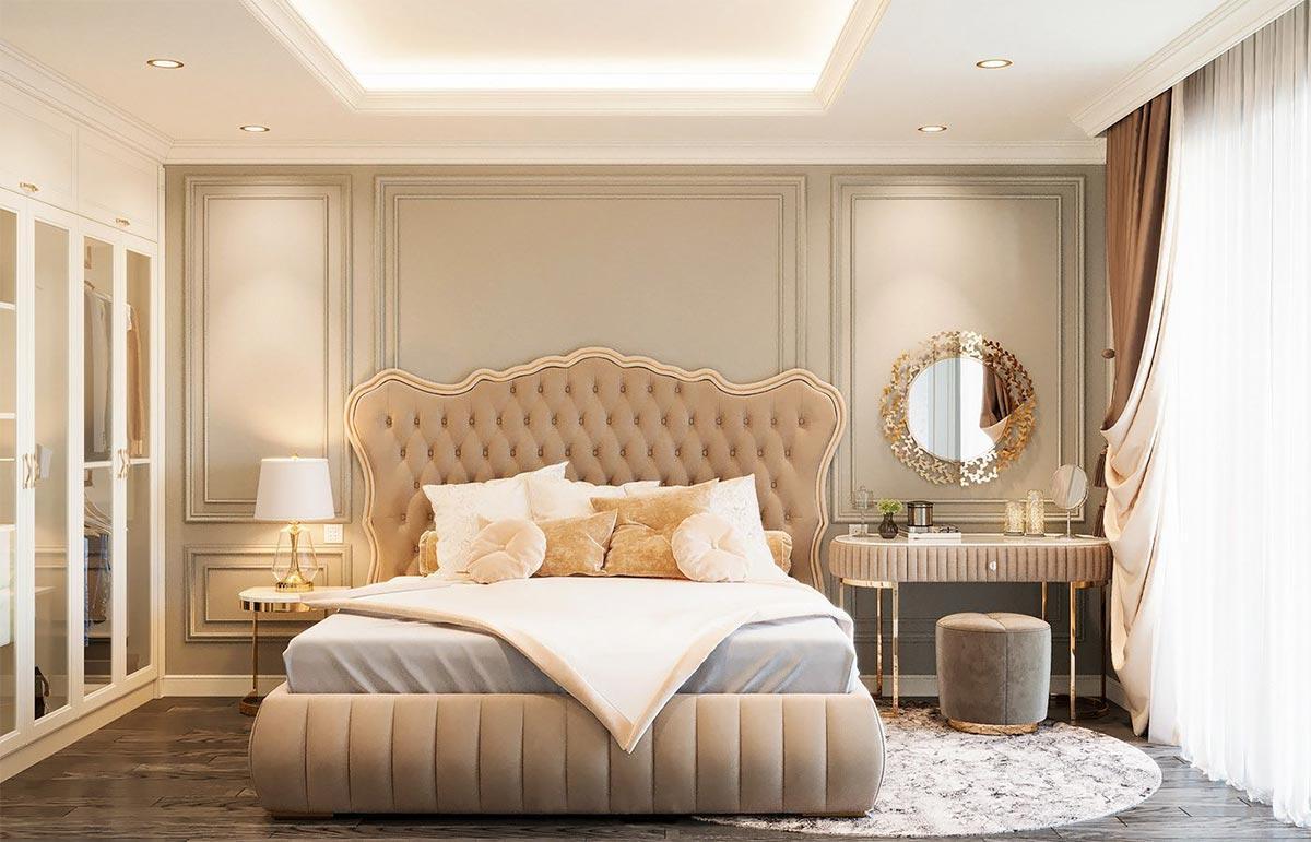 thiết kế phòng ngủ cho nhà phố