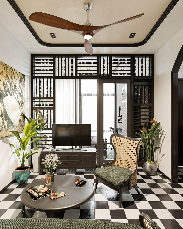 Thiết kế nhà theo phong cách indochine