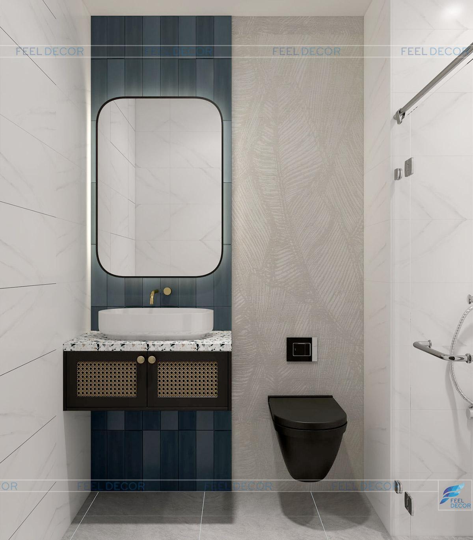 thiết kế nhà vệ sinh chung cư One Verandah